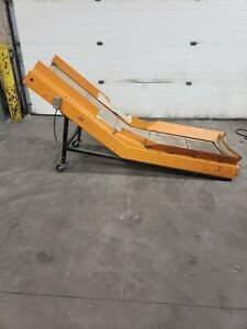 Laros Cleated Inclines Conveyor 115v 8 X 20 14ge