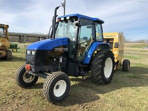 New Holland Ts100 Cab Tractor Air Ride Seat Dual Remotes