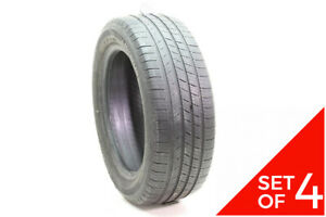 Set Of 4 Used 205 55r16 Michelin Defender 91t 5 5 32