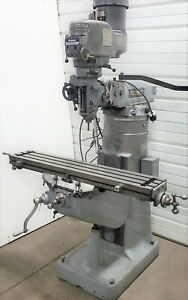 Running 1989 Bridgeport Series 1 9 X 42 Vertical Milling Machine 2hp 230v