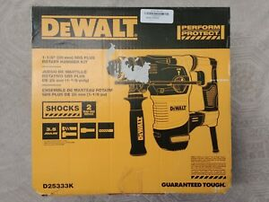 Dewalt D25333k 1 1 8 In Sds Plus Rotary Hammer Kit