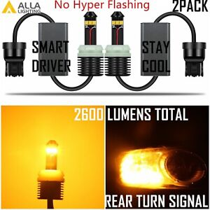 Alla Lighting Led Directly Plug Play 1300 Lumen Can bus Error Free Turn Signal