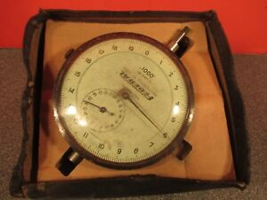 Vintage Federal Machinist Dial Indicator Model E3bs r1 0 0001