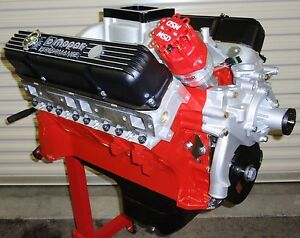 Mopar Dodge 493 625 Horse Complete Crate Engine Pro Built 426 440 528 New Bbm