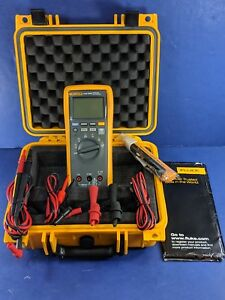 New Fluke Cnx3000 Wireless Multimeter Cnx 3000 Hard Case