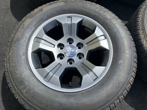 4 Genuine Chevy Avalanche Silverado Wheels Tires Michelin Tires Oem Factory New