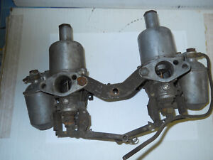Dual Su Carbs 1 1 8 Output Includes Linkage Reduced Now
