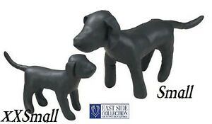 2 Pc East Side Collection Dog Mannequin Stuffed Display Model Manequin Apparel