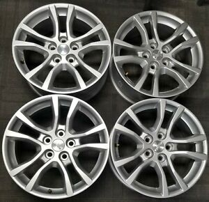 18 Chevy Camaro Factory Oem Alloy Wheels Rims 18x7 1 2 2010 2015