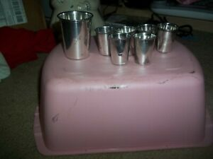 6 Vintage German 835 Silver Schnapps Cups Shot Cup Kiddush Cup Plus Large Cup