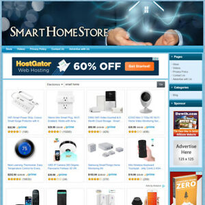 Smart Home Ready to go Dropship Website Your Online Business Runs Automatic