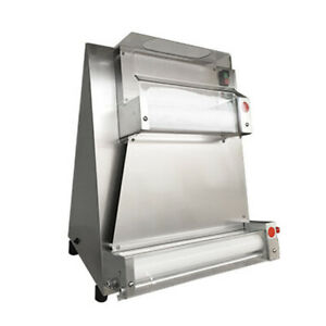 Automatic Pizza Bread Dough Roller Sheeter Machine W Food Safe Resin Rollers
