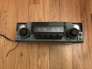 Rare Oem Mopar 1970 B Body Am Fm Radio Plymouth Superbird 2884753 One Year Only