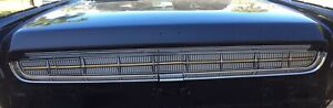 1963 Continental Rear Tail Light Panel Fillet Panel Trim Graphic Overlay Kit