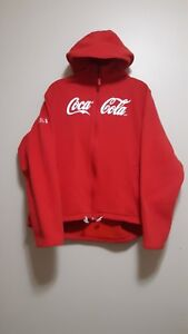 Coca-Cola Hoodie/Sweater 50% Recycled Polyester & 50% Organic Cotton XL