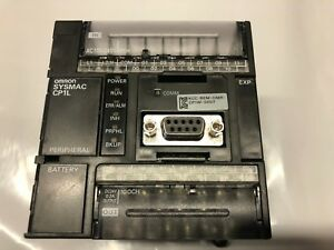 Omron Cp1l l20dr a Plc Excellent Cond W Trial Programming Software And Manual