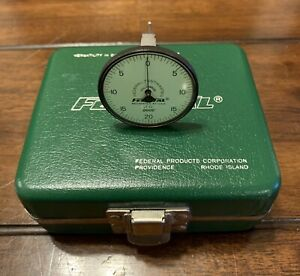 Sherline Taig Federal Products Testmaster Dial Test Indicator Lt 12 Case 0005