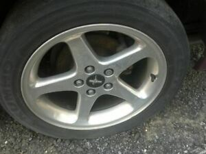 Wheel 17x8 5 Spoke Gt With Exposed Lug Nuts Fits 98 04 Mustang 2044550