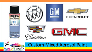 2018 Chevrolet Colors Custom Mixed Automotive Touch Up Spray Paint 11 5oz