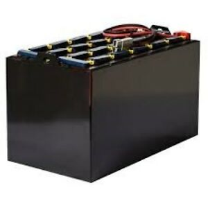 24 125 13 48 Volt Reconditioned Forklift Battery 750 Ah 38 5x20 6x30 5