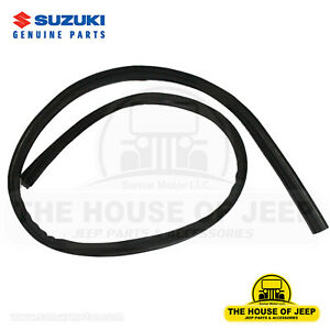 Oem Genuine Rear Gate Weatherstrip 1985 1995 Suzuki Samurai 84681 80001