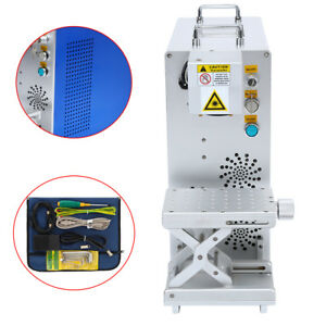 20w Fiber Laser Marking Machine For Metal Non metal Phone Marker Air Cooling