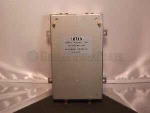 Microwave Filter Co Mfc 10718 Tunable Uhf Bpf Bandpass Filter 225 400mhz
