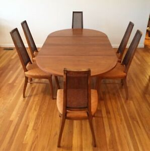Lane Rhythm Mid Century Modern Dining Table And Chairs