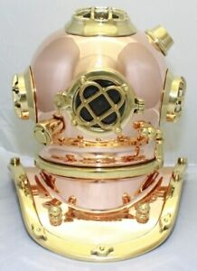 Deluxe Mark V Dive Helmet Without A Base 12