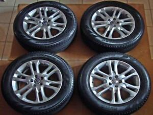Set Of Pirelli Tires 235 60 r18 Part 1916600 With Volvo Factory Oem Rims