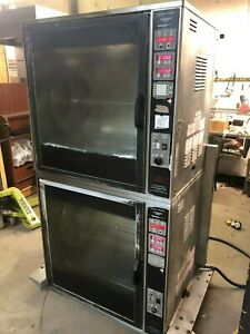 2002 Henny Penny Scr8 Electric Double Chicken Rotisserie Cooking works Great