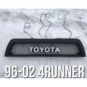 1996 2002 Toyota 4runner Grille W Amber Led S Toyota Emblem 1997 1998 1999 2000
