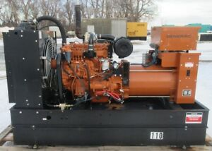 50 Kw Generac Hino Diesel Generator Genset Single Phase Load Bank Tested