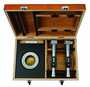 Mitutoyo 468 989 Digimatic Holtest Lcd Inside Micrometer Set 2 3