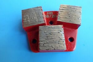 16 20 3 Big Segment Hard Bond Diamond Tool trapezoid Metal Bond concrete Grind