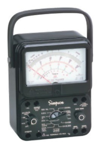 Simpson 260 8p Analog Multimeter With Relay Protection