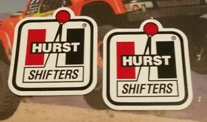 Hurst Shifters Racing Decals Stickers 3x4 Free Shipping Offroad Utv Nmca Drags
