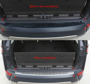 For Land Rover Discovery 5 L462 17 19 Car Rear Bumper Protector Sill Plate
