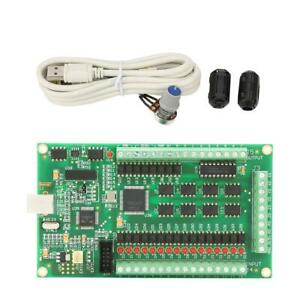 4axis Usb Mach3 Motion Card Controller Breakout Board Interface For Cnc Machine