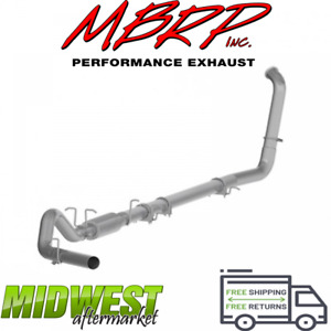 Mbrp 4 Turbo Back Exhaust System Fits 2003 07 Ford F 250 F 350 6 0l Powerstroke