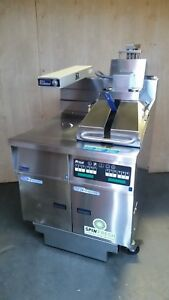 Pitco Ssh55c Solstice Supreme Gas 50lb Fryer W Spinfresh Filter