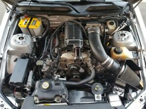 05 09 Ford Mustang Whipple Supercharger Engine Motor 6 Speed Trans Complete