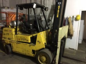 Hyster 12 000 Lbs Propane Forklift S120 Six Cylinder Engine