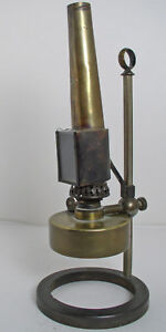 Antique Microscope Oil Lamp Ogivley