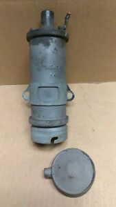 1941 46 Chevy Used Ignition Coil With Bracket And Cover 1115401