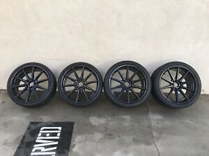 New Mercedes benz Bmw 20 Rohana Rf1 Staggered Wheels And Nitto Invo Tires