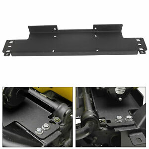 For 1987 2006 Jeep Wrangler Yj Tj Winch Mounting Plate 12000 Lb Capacity