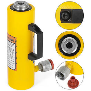 10 Tons 6 Solid Hydraulic Cylinder Jack Straightening Single Acting