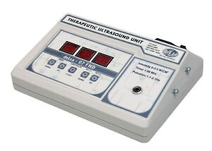 1 Mhz Ultrasound Ultrasonic Therapy Machine For Pain Relief Original Fnd 546sd