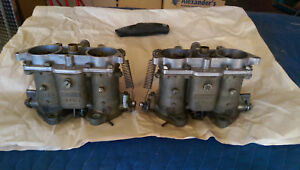 Porsche 356 912 Solex 40pii 4 Carburetor Pair Split Shaft Type